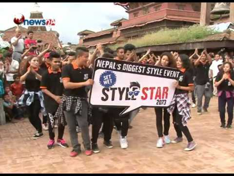 NEPAL&39;S BIGGEST STYLE EVENT STYLE  STAR 2073-NEWS 24