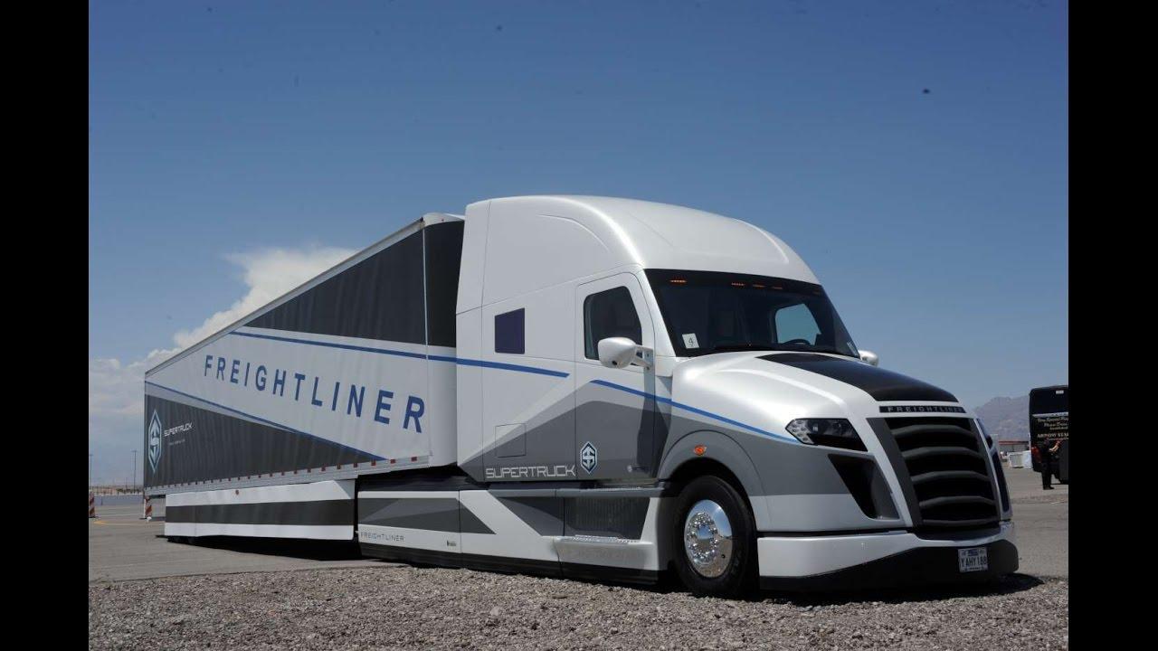 Pictures Of Future Trucks: Freightliner Future Truck