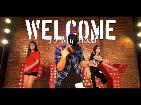 Ace Hood  Welcome To My Hood remix Choreography   Mikey DellaVella