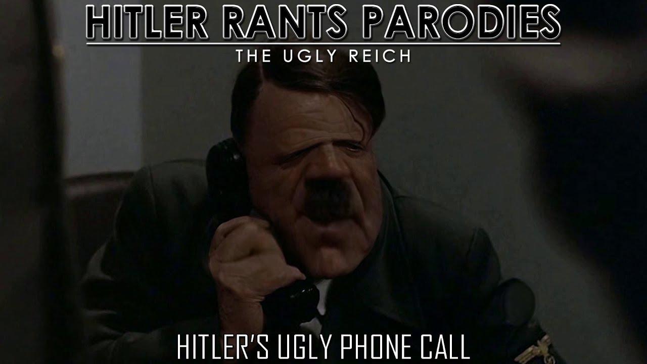 Hitler's ugly phone call
