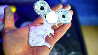 How to Make Liquid Metal Fidget Spinners ~ Advanced How to make a Fidget Spinner DIY Tutorial