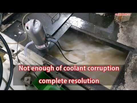 COOLANT CLEANER, MACHINE TOOLS, CLEAN MAX-31