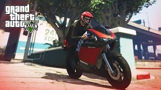 BEAST BIKE STUNT! - (GTA V Stunts & Fails)