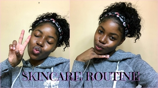 HOW I MAINTAIN MY CLEAR SKIN| SKINCARE ROUTINE (DRY SKIN)