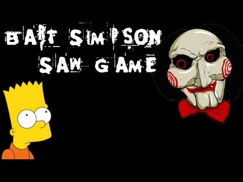 Bart Simpson Saw Game [English Walkthrough]