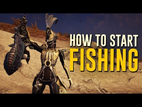 How to start Fishing! [Plains of Eidolon] (Warframe)