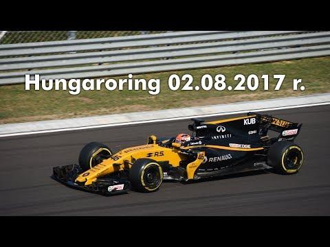 Hungaroring F1 tests - 02.08.17 r. / Testy F1 Hungaroring, Kubica w bolidzie RS17