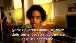 Expressive Language Disorder - Sariah age 10
