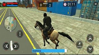 Police Horse Chase: Free Shooting Game - Android GamePlay - Shooting Games Android