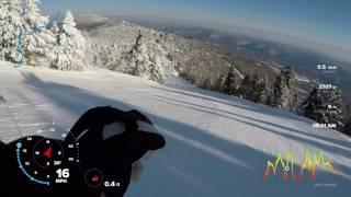 Ski Vermont - Fast run at Killington