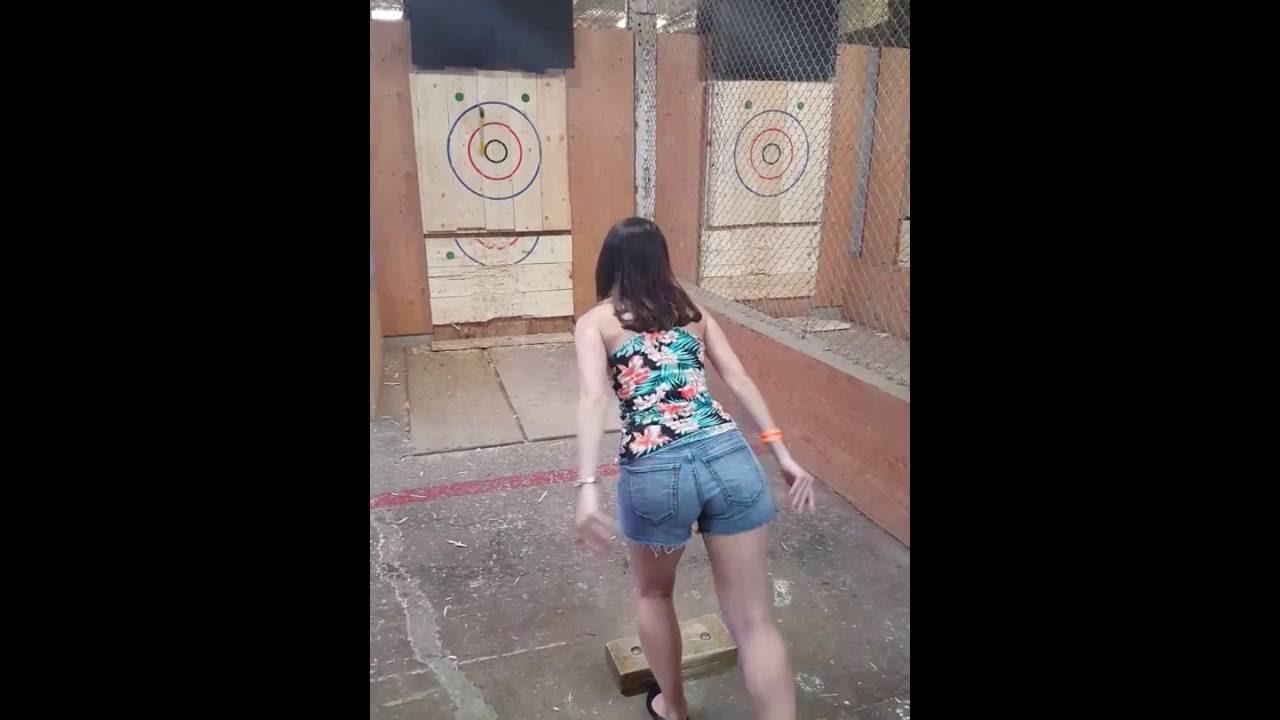axe throwing batl toronto youtube