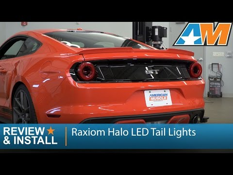2015-2017 Mustang Raxiom Halo LED Tail Lights Review & Install