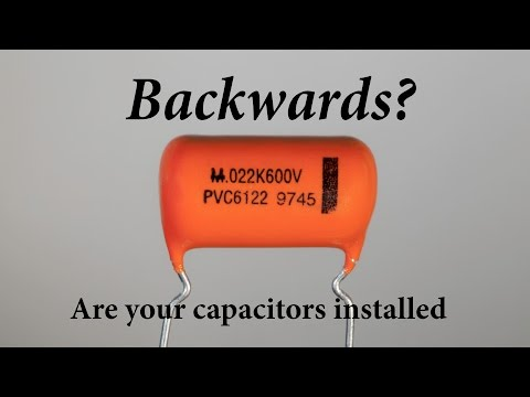 Are Your Capacitors Installed Backwards? Build this and find out