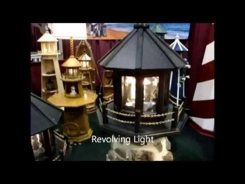Nautical Outdoor Lighthouse Light Options