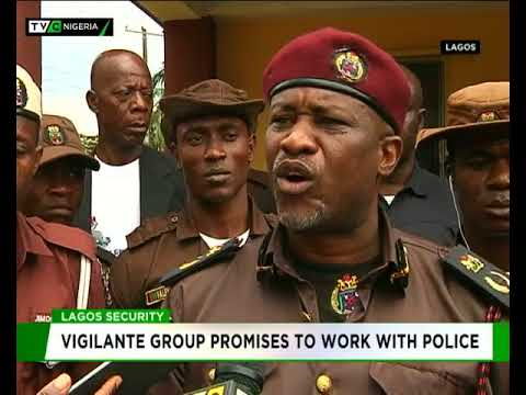 Lagos security: Vigilante group promises to work with Police