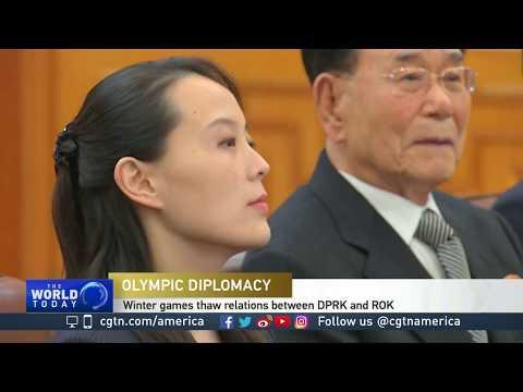 DPRK high-level delegation heads home after ROK visit