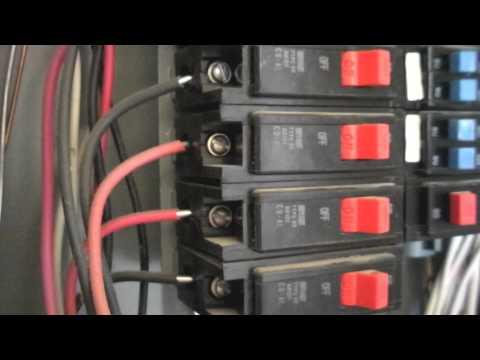 Aluminum Wiring Hazards Escondido Home Inspector Youtube
