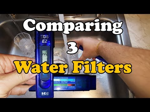 How Does A 5 Stage RO Water Filter Compare To Tap & Fridge Filtered Water