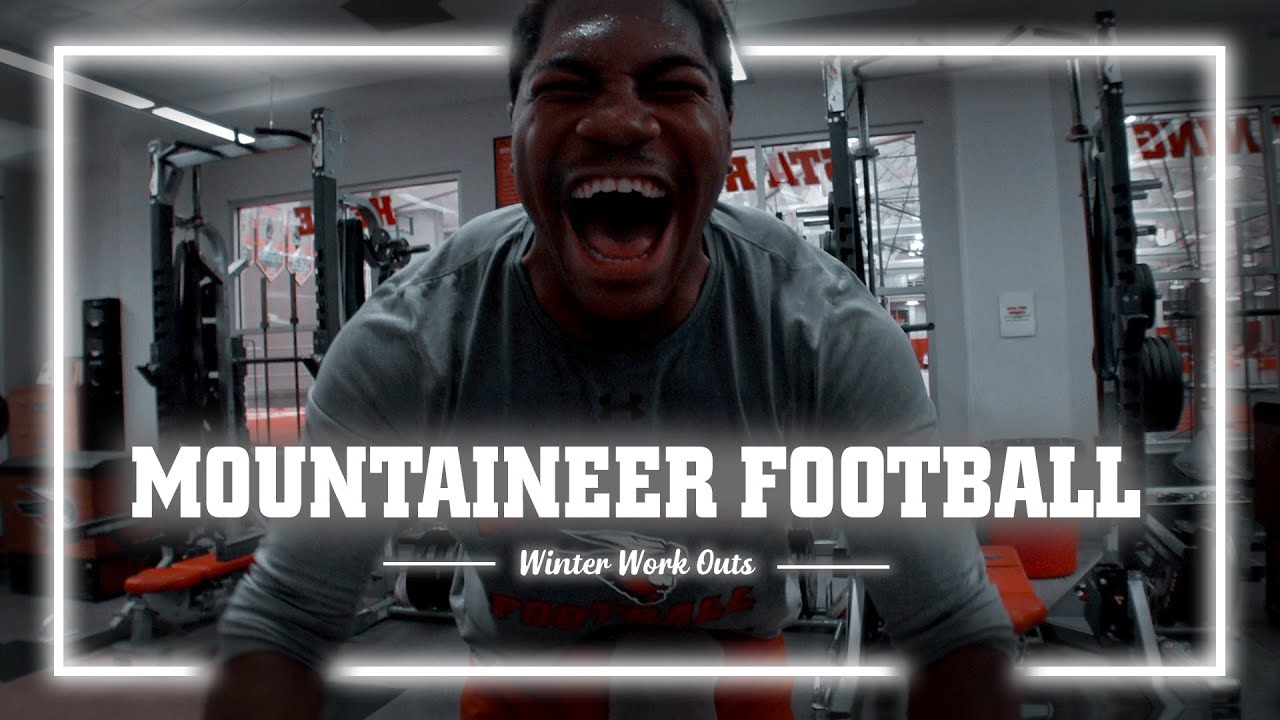 WCU Mountaineer Football Winter Weight Lifting - (Shot with Sony FDR ax33)