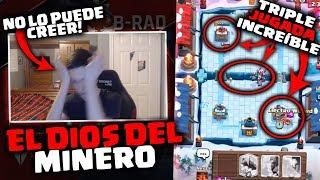 EL MEJOR JUGADOR DE MINERO DEL MUNDO HACE HISTORIA ! ! - DrekzeNN - Clash Royale