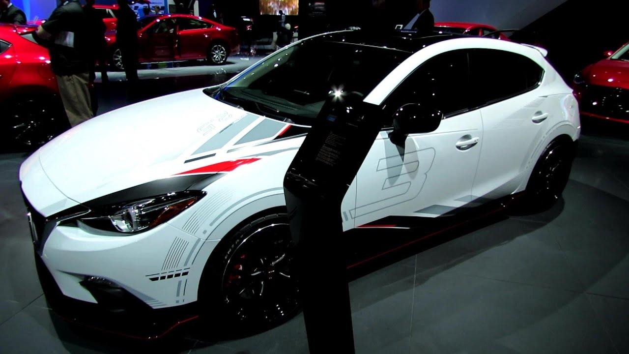 Mazda Clubsport Concept Exterior Walkaround LA Auto - Car show stickers
