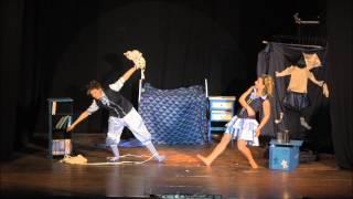 """""""LA VACA"""" magic act ► Niñas del Mago, dúo de magas en España"""