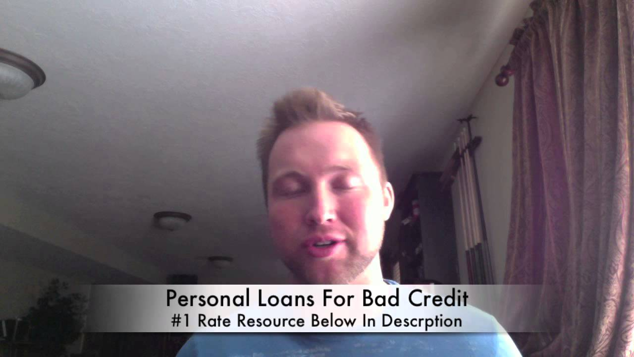 Personal Loans For Bad Credit (Fast Approval Online) - YouTube