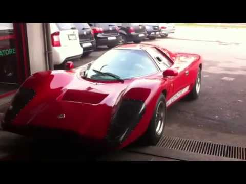 Mclaren M6GT, Coyote V8 after chassis tuning, check out ...