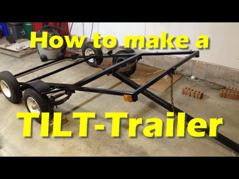 Best Tilt Bed Car Trailer