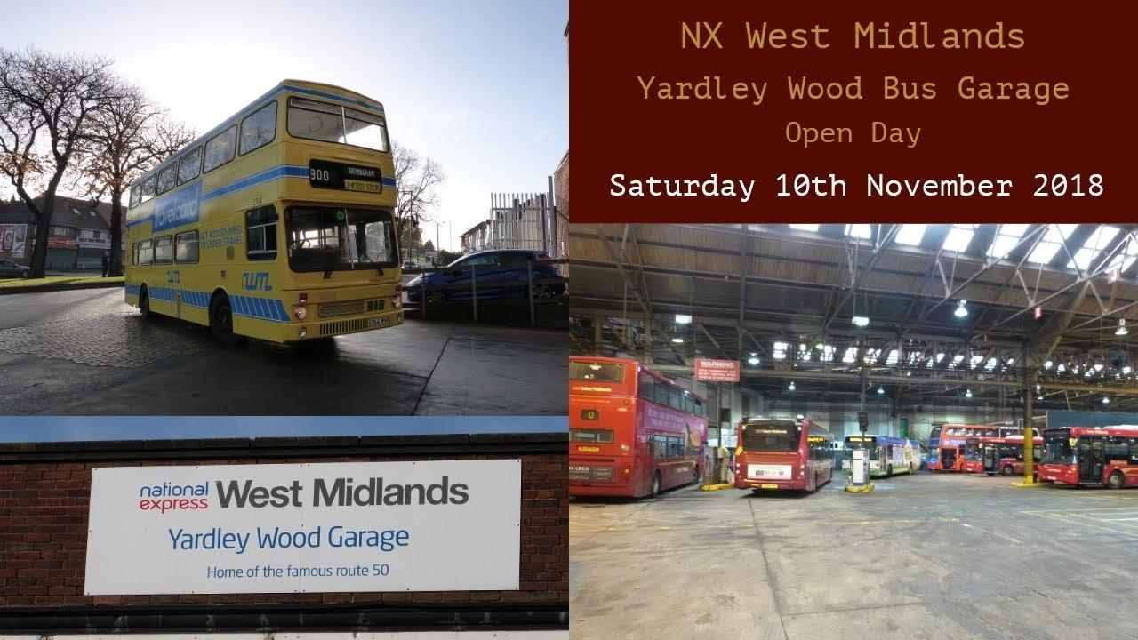 Nx West Midlands Yardley Wood Bus Garage Open Day Saturday