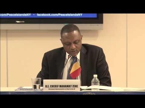 H.E. Cherif Mahamat Zene, Permanent Representative of Chad to the United Nations