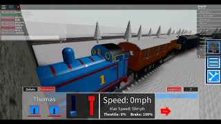 (Roblox) GCR - Thomas The tank Engine and Unblocking the line.