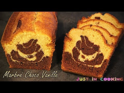 recette-de-cake-marbré-chocolat-vanille