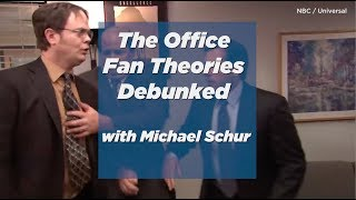 THE OFFICE Fan Theories DEBUNKED with Michael Schur