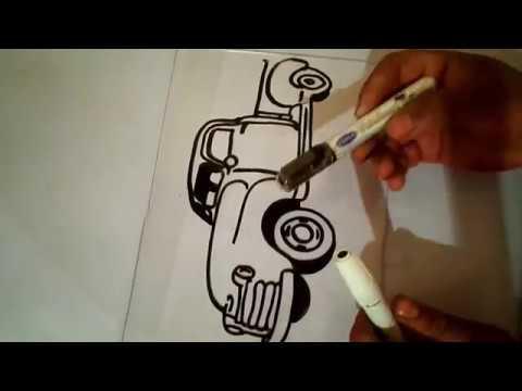 بروجكتور تعلم الرسم