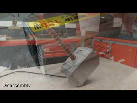 Thor's Hammer - Mjolnir - AC Powerbank DIY