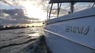 Gemini Freestyle sailing catamaran full presentation with sea trial, trucking and features