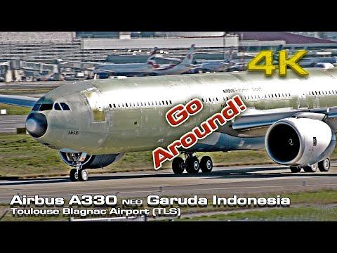 Garuda Indonesia New Airbus A330-900 NEO (MSN:1958) Flight Tests!