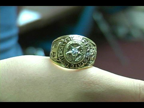 Texas State Ring Ceremony