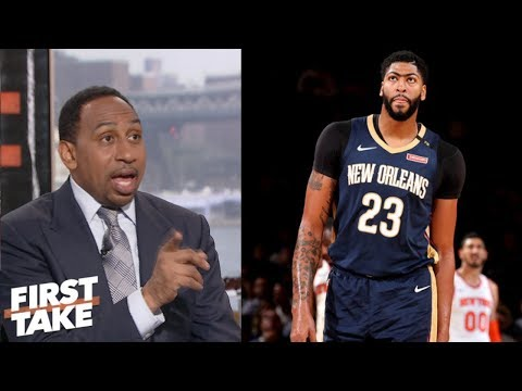 How Lakers can trade for Anthony Davis | First Take