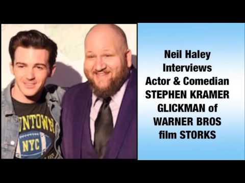 "Neil Haley will interviewActor & comedian STEPHEN KRAMER GLICKMAN of WARNER BROS film ""STORKS."""