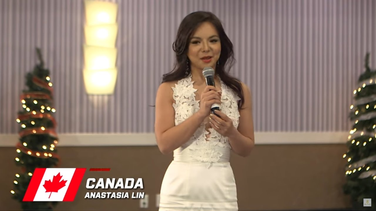 Canada, Anastasia Lin - Top 10 Talent: Miss World 2016