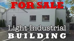 Light Industrial Building For Sale in Stamford, CT