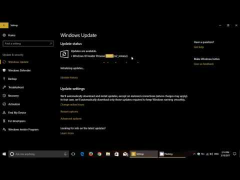 Windows 10 Insider preview Build 15055 Released Fast Ring PC and Phone March 10th 2017