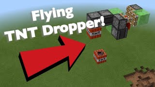 Making A Flying TΝT Dropper In Minecraft!