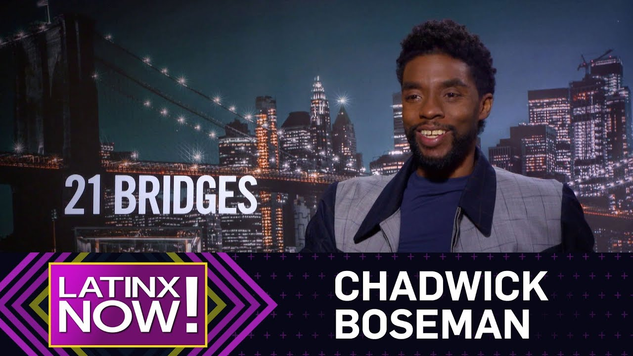 Chadwick Boseman Hopes for More Latinx Representation in Hollywood | Latinx Now! News