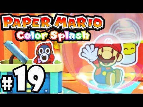 Paper Mario Color Splash Part 21 Cobalt Base