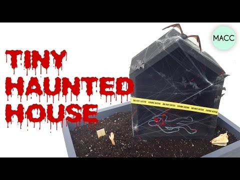 DIY Halloween: Tiny Haunted House