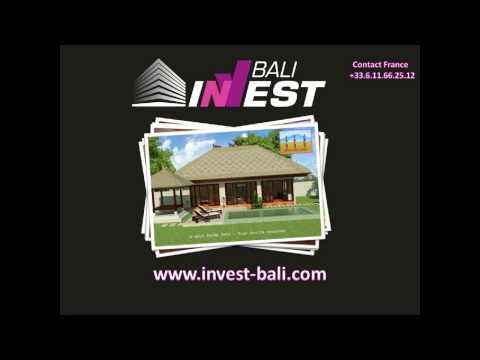 Investir a bali : Villa neuve a partir de 47000€ avec www.invest-bali.com