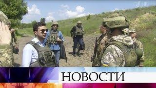 В Донбассе набирает популярность акция с призывом к новому президенту Украины.